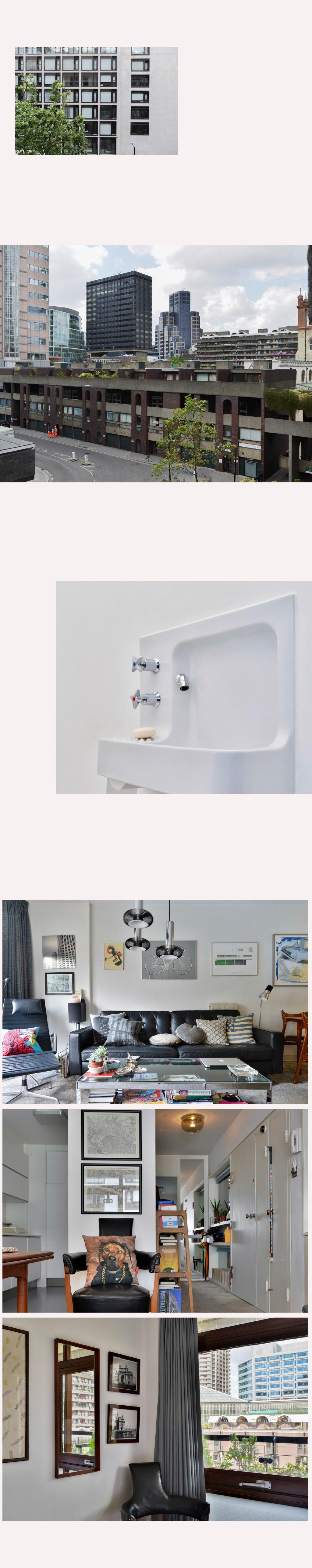 Barbicanlondon harry clark interior design for Innenarchitektur 60er