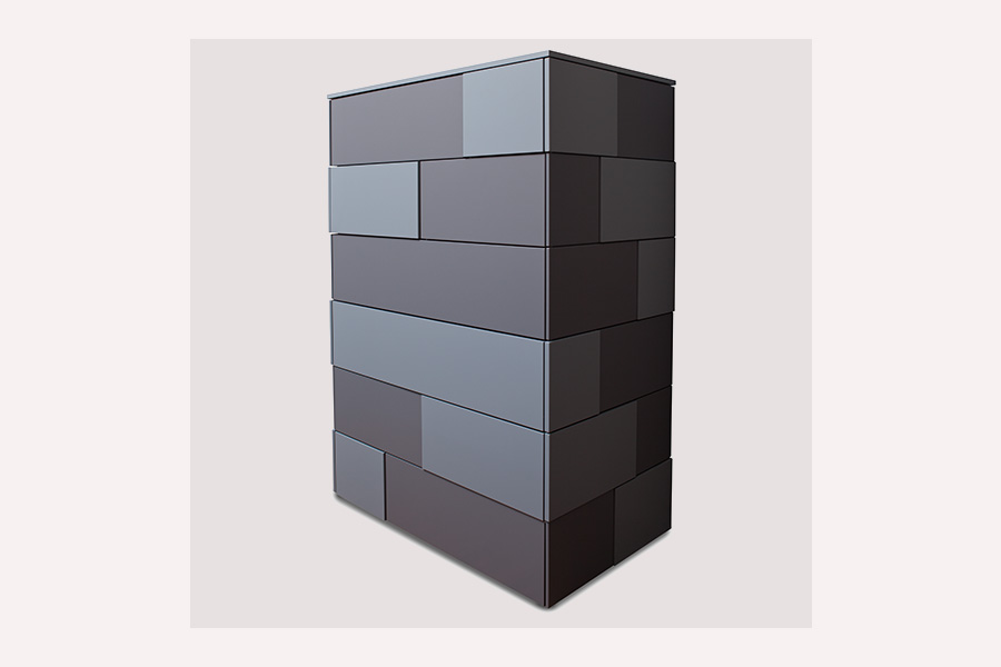chest of drawers<br>cubic