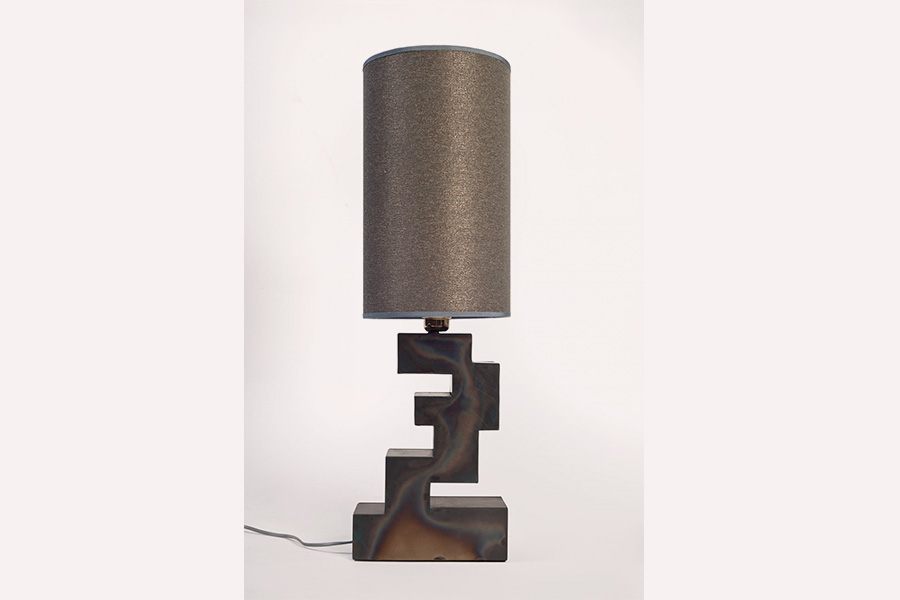 stacks table <br> lamp