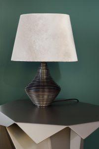 Ausstellung harry clark disc lamp