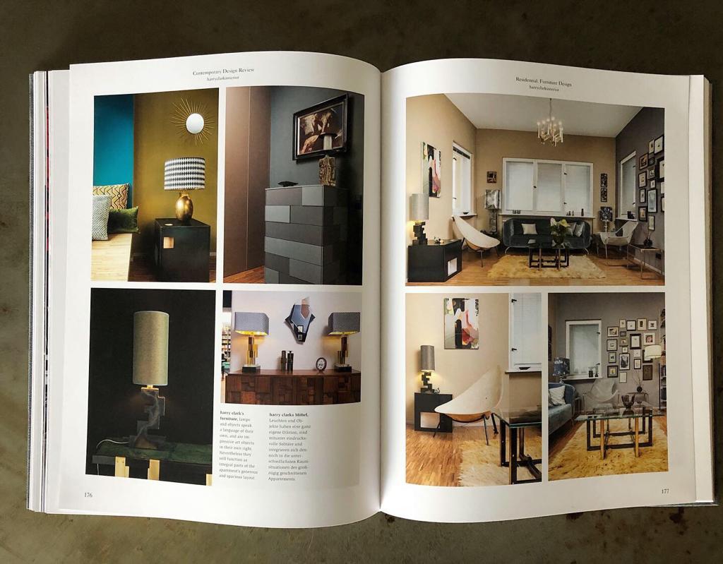 teNeues Blick ins Buch Conetmpory Design Review harry clark seiten 2