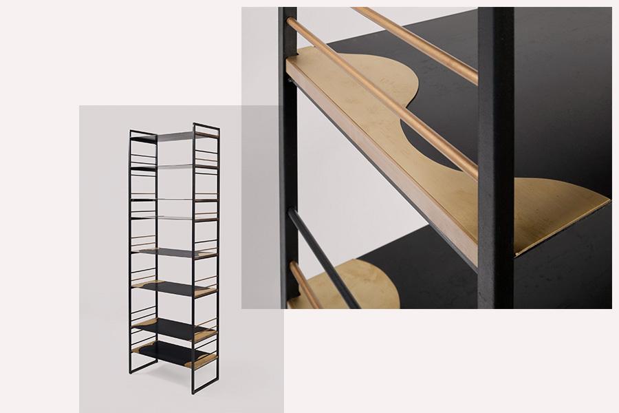 curve bookshelf