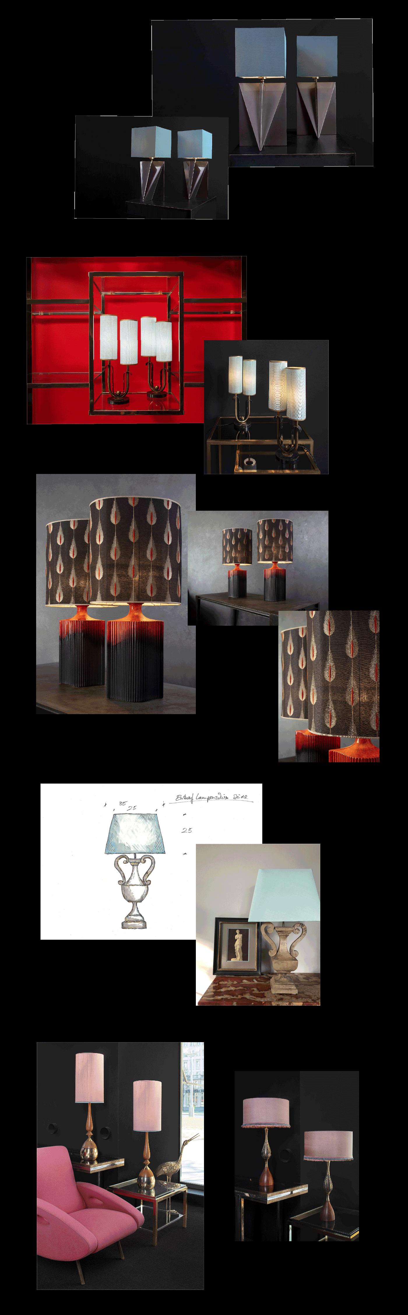 Galerie-Lampenschirmdesign-1