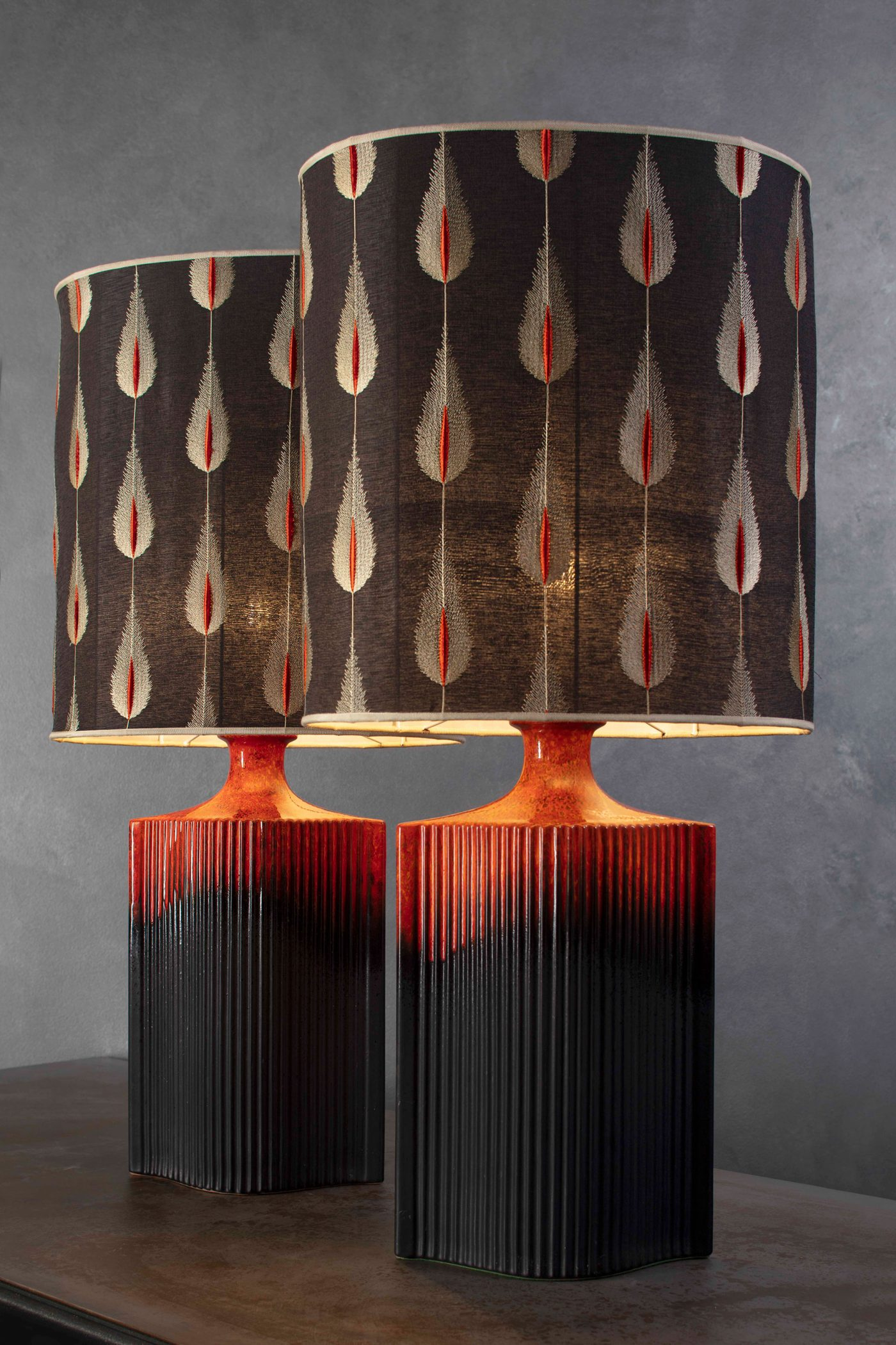 lavalamps-by-harry-clark-feather-lampshades-detail