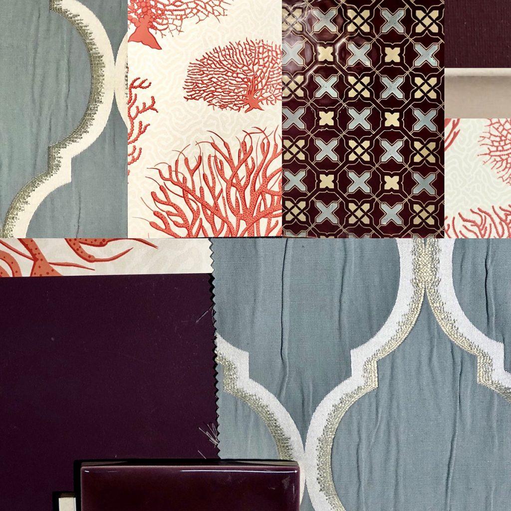 harry-Clark-Farben-Collage-aus-Stoffen,-Farben-und-Mustern