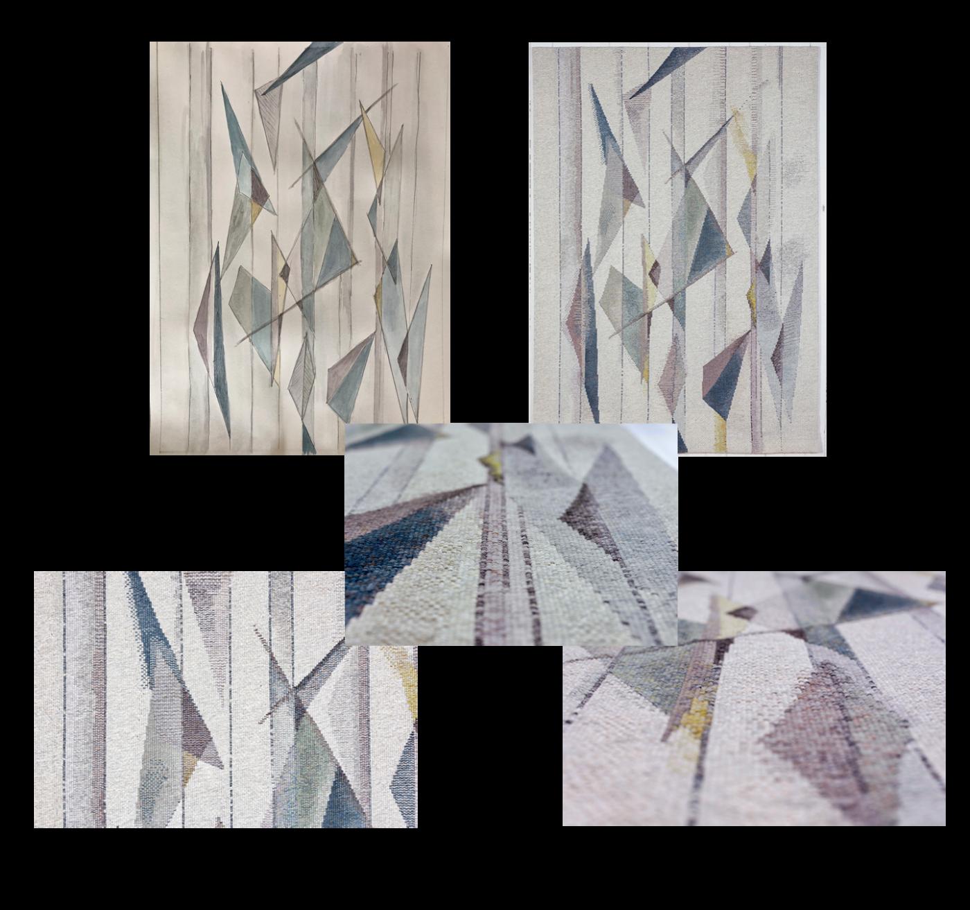 Galerie-Wandteppich-Tapestry-Von-der-Skizze-zum-fertigen-Teppich-Detailansichten
